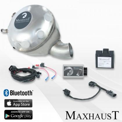 Set complet Maxhaust ActiveSound Audi A8 4H   incl. Soundbooster